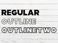 Modia Font Family – Sans Serif – Font weight