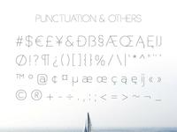 Basicaline Font Family – Sans Serif – Character Set 3