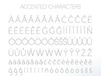 Basicaline Font Family – Sans Serif – Character Set 4