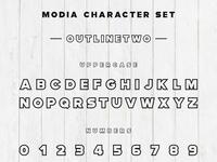 Modia Font Family – Sans Serif – Outlinetwo