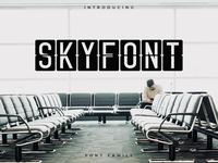 Skyfont Font Family – Sans Serif Font
