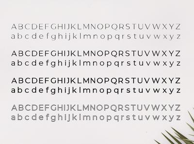 Gantic Font Family - Sans Serif - Uppercase & Lowercase