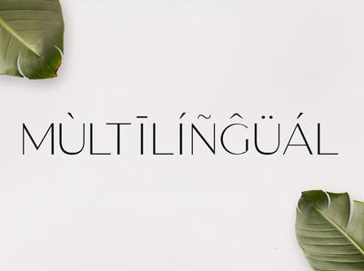 Gantic Font Family - Sans Serif - Multilingual
