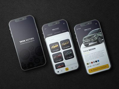 Tata Motors Mobile App Design Concept