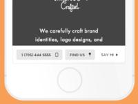 Mobile website dock