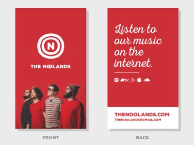 The Noolands Cards - Design