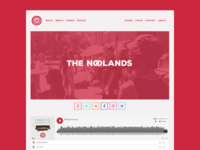 The Noolands Website 2.0 (Homepage)