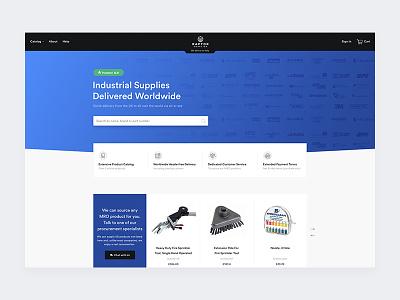 Raptor Supplies store shop ecommerce minimalistic redesign future design clean web design product interface ui ux