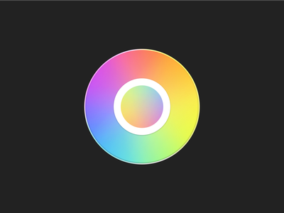 hueu macOS icon roygbiv color picker color icons swift app icon macos