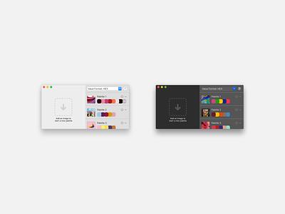 hueu light and dark modes picker palette color swift native app macos ux ui product design