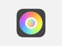 hueu iOS app icon ios app design hueu color swiftui ios app product design