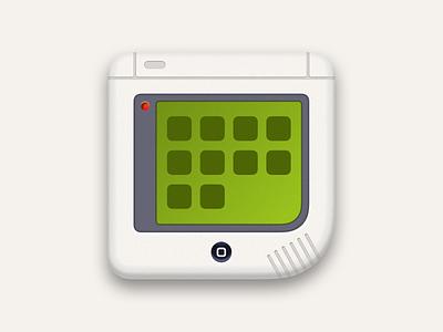 iPhone Boy nintendo apple theme gameboy icon set ios icon