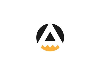 A + Pencil monogram