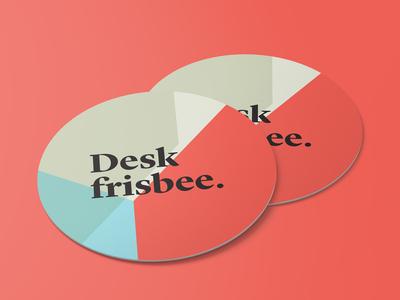 Desk frisbee (?) quantum mechanics machine learning blockchain eye-protection fun coaster