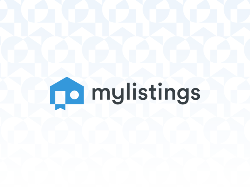 mylistings branding product design property real estate branding