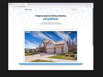 mylistings Landing Responsive Mockups real estate css html mockups product design landing page