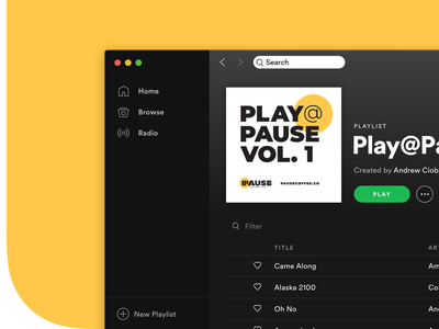 Custom Spotify Album Covers playlist volume music social assets digital design social media album spotify branding