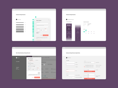 Digital Style Guide real estate react components web application ux ui branding
