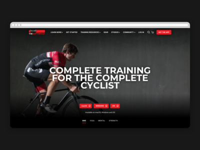 The Sufferfest Website + Ecommerce Shop