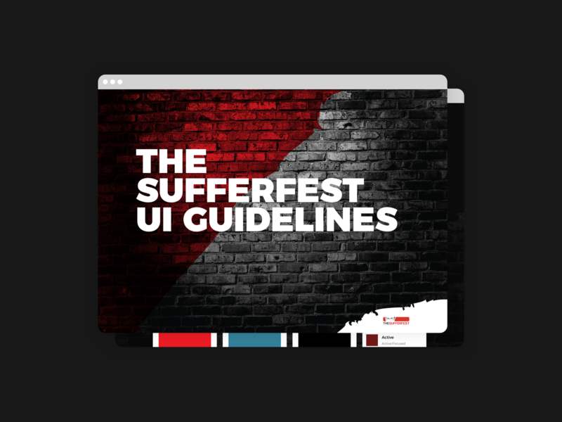 Digital Brand/UI Guidelines component library component react styleguide guideline branding ui cyclist bicycle cycling sports