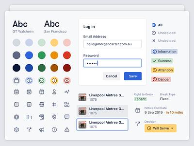 Propflow · Design System icons product design design system