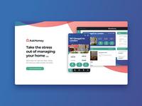 AskHomey Website Design minimal colorful design web development web design agency web design design agency