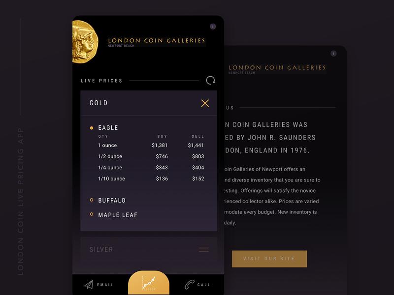 London Coin Mobile App dark background dark app design app design design agency app dashboard mobile app development mobile app design mobile app mobile