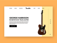 Fender product page