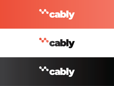 cably - taxi ordering app logo taxi driver order cab order webdesign graphic branding web app logo taxi app taxi cab