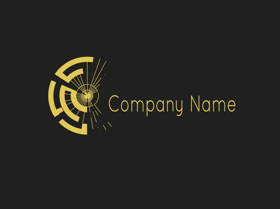 Lazy Sunday Logo golden black flat logodesign logo adobe photoshop adobe illustrator vector digitalart design