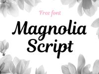 Magnolia Script. FREE FONT