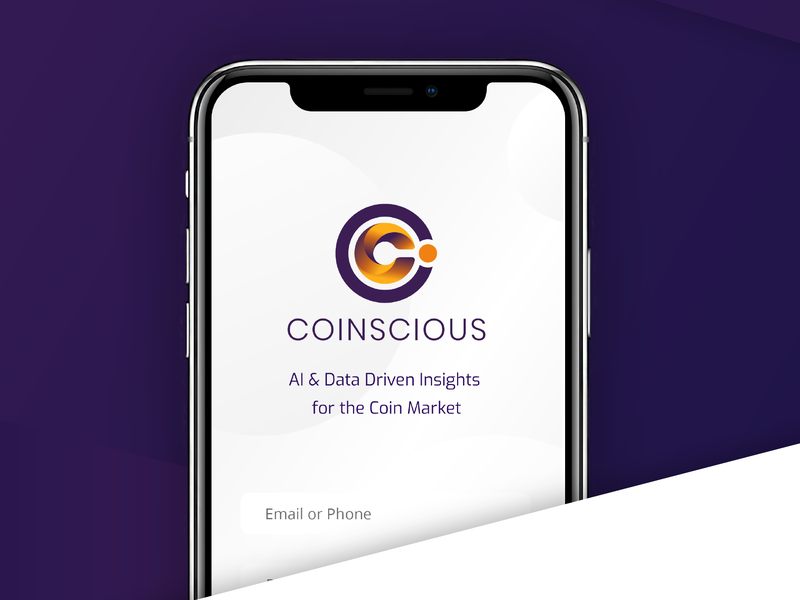 Coinscious branding - Cryptocurrency ui tech company tech logo app business branding agency graphic design logo cyrptocurrency cyrpto