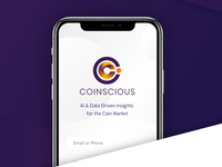 Coinscious branding - Cryptocurrency
