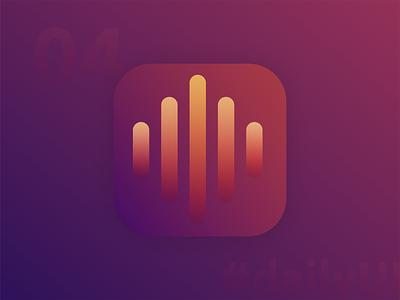 DailyUI #005 - App Icon app icon dailyui 005 logo design app 100 day ui challenge daily 100 challenge 100 day challenge user interface user experience ui
