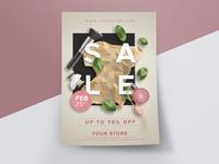Beauty Store Sale Flyer