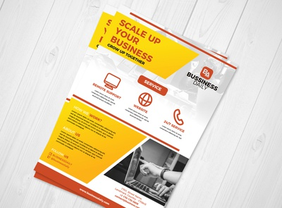 Business Corporate Flyer Design #1