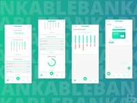 Bank Account / Finances App Design