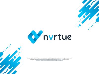 Modern Gradient Monogram NV logo
