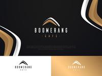 Luxury Boomerang logo design by ArsenicDesign