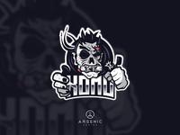 "Scary Zombie Mascot Logo Design for ""KOMO"""
