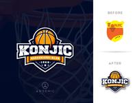 Basketball Club Logo Redesign