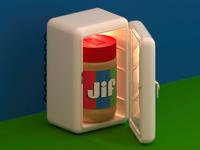A Fridge Full of Jif