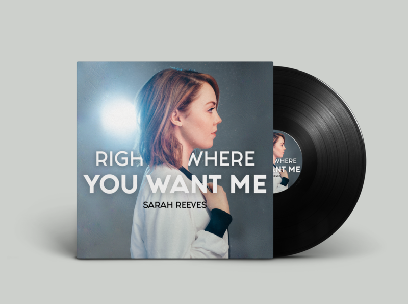 Right Where You Want Me - Album Cover Redesign II photoshop album cover music
