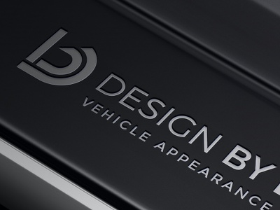 Design by Detail Logo automotive design logo