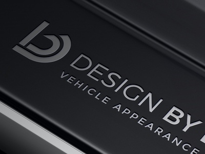 Design by Detail Logo automotive design logo