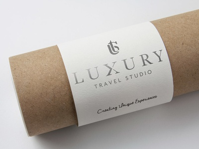 Luxury Travel Studio Logo travel logo