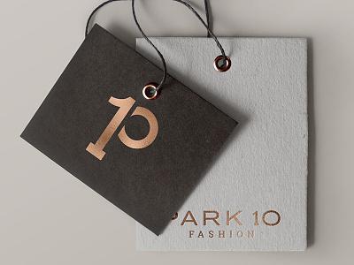 Park 10 Fashion Logo Design clothig beauty high end rose gold fashion logo