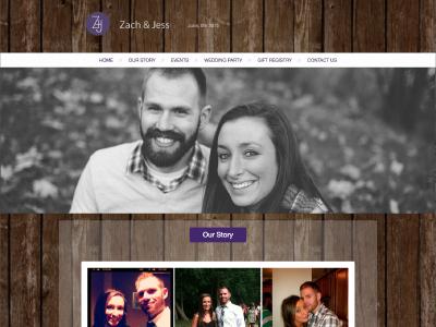 WordPress Wedding Website html5 css3 php wordpress web design