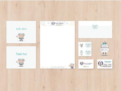 Fibonacci Design Lab Branding Package branding business cards letterhead stationary