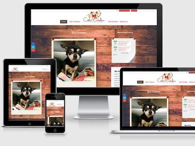 Critter Crusaders Website custom divi css3 html5 non-profit wordpress